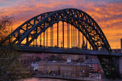 Tyne Bridge Sunset