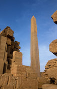 Temple of Karnak, Obelisk erected by Queen Hatshepsut, Luxor, Egypt