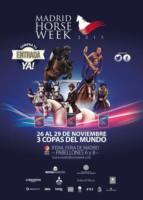 2015_Madrid Horse Week FEI Longines World Cup photos