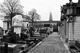 Cimetière de Passy Paris 16th