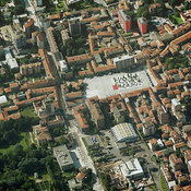 Cinisello Balsamo aerial photos