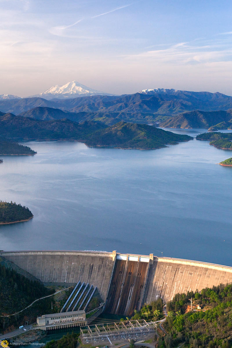 Shasta Dam from the Air #4
