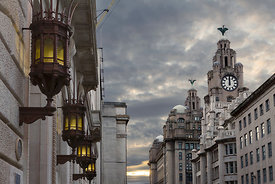 India & The Royal Liver Buildings
