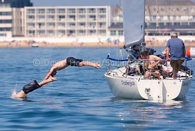 Crackerjack, GBR4074, J24, Poole Regatta 2018, 20180528039