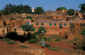 Kibidwe district is the old part of town, Bobo-Dioulasso, Burkina Faso