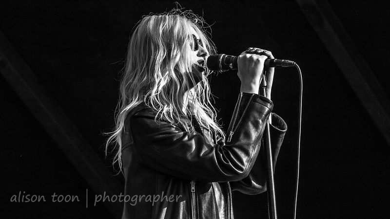 Taylor Momsen, vocals, The Pretty Reckless
