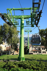 Cablecar, Funchal, Madeira, Portugal