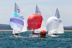 Flying Fifteens GBR3994, GBR4054 and GBR3537, 20170603392