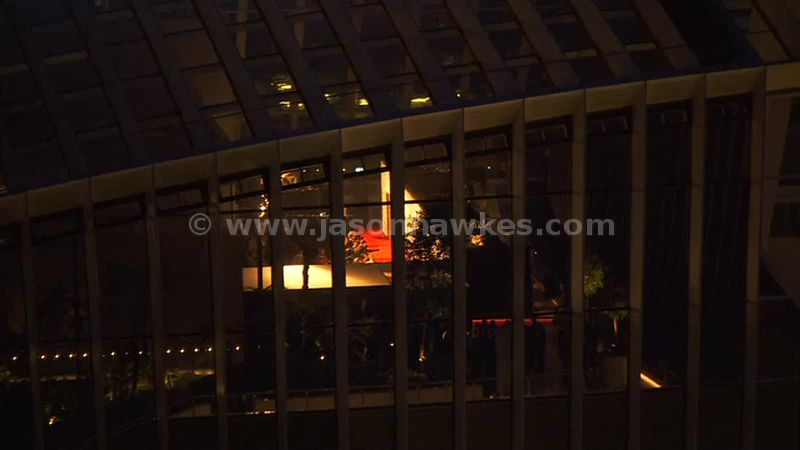 Aerial footage of 20 Fenchurch Street, London