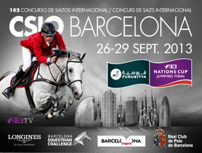 2013_CSIO5* Barcelona 102 edition Nations Cup Final photos