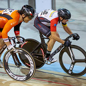 Master Men Points Race. Track O-Cup #2, Milton, On, March 27, 2015