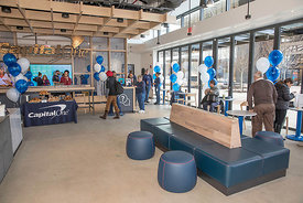 2/23/18-Capital One Cafe Grand Opening, Assembly Row, Somerville, MA