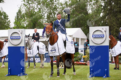 Prize Giving ceremony of CSI5* Copa del Rey - Trofeo Volvo