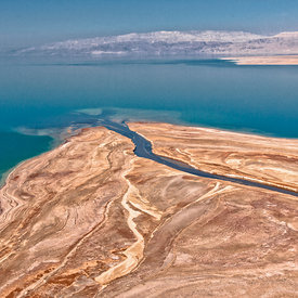 The Sea of Salt, Looking Into the Dead Sea aerial photos