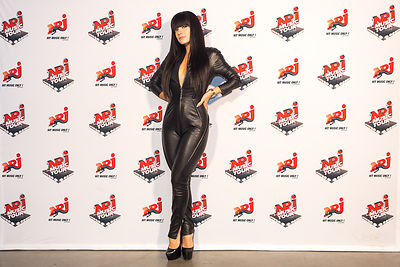 Lilly Allen photocall - NRJ Music Tour