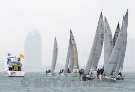 Platu start. Top of the Gulf Regatta 2018.