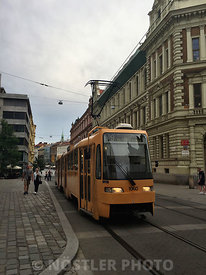 Trams in Brno, one of the oldest permanently used networks in the World