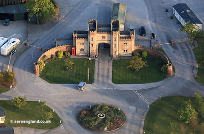 lodge gate house at  Burton Constable Hall Yorkshire