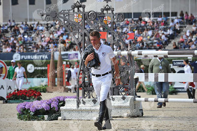 Jeroen DUBBELDAM ,(NED) during Longines Cup of the City of Barcelona competition at CSIO5* Barcelona at Real Club de Polo, Barcelona - Spain