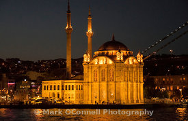 Mosque on the Bosphorus Istanbul 2