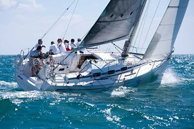 Firestarter, GBR 8560R, Bavaria 35 Match, 20130720061