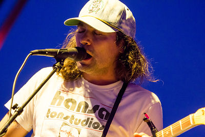 Adam Granduciel, guitar and vocals, The War On Drugs, TBD Fest 2014