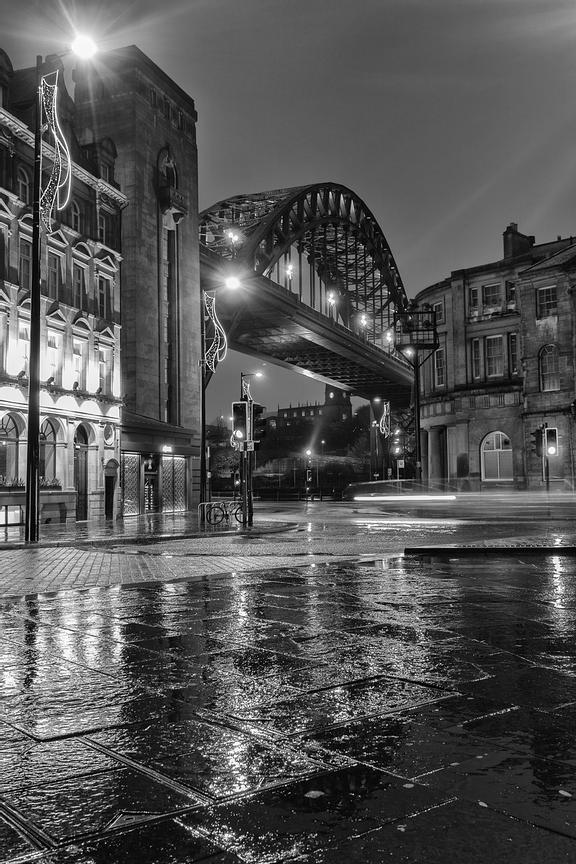 The Tyne Bridge from the Quayside