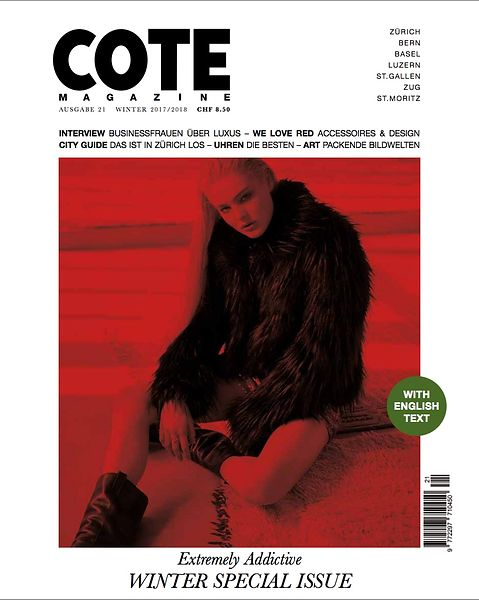 COTE Magazine (Switzerland) - Jan 2018 photos