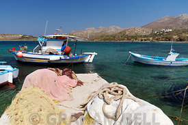 Blephoutis Bay, Leros, Dodecanese Islands, Greece.