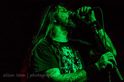 Ben Ward, vocals, Orange Goblin, Sacramento