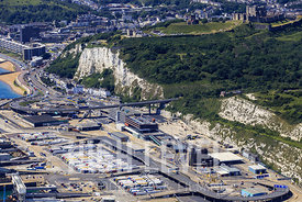 Aerial Photography Taken In and Around Dover-White Cliffs