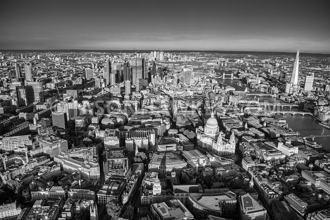 St Pauls and the City of London.