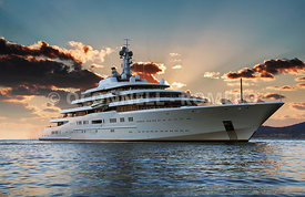 Superyacht Eclipse,