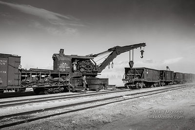 Nevada Northern Railway Wreck Crane A