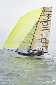 Be Light, HUN 18, 18ft Skiff, Euro Grand Prix Sandbanks 2016, 20160904452