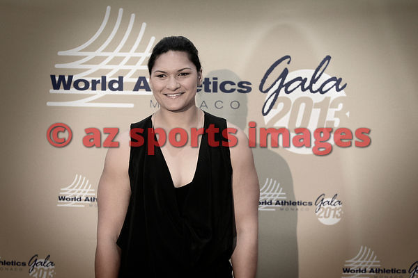 World champion Valerie Adams (NZL)