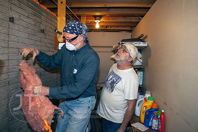Iowa Valley Habitat for Humanity Sierra Club Weatherization, Earth Day weekend