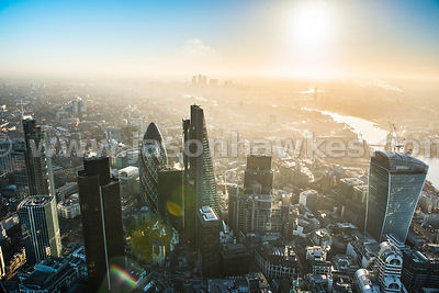 City of London city aerials