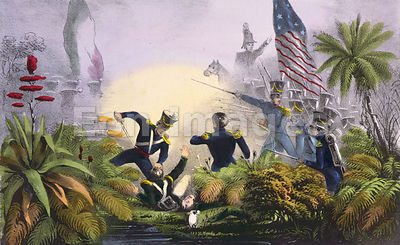 Battle of Palo Alto during Mexican-American War