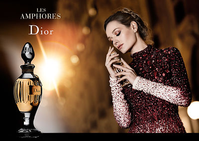 Advertising Dior Perfume Campaign  Fashion Photographer Philippe Sautier Paris