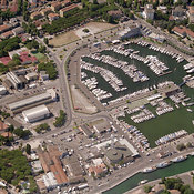Cesenatico aerial photos