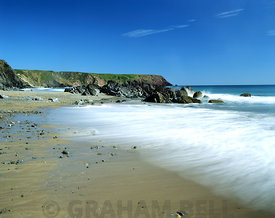 marloes sands near milford haven, pembrokeshire, west wales.