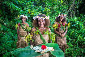 A welcoming gesture - Banks Islands