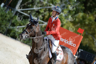 Lauren HOUGH ,(USA), ROYALTY DES ISLES during Coca-Cola Trofey competition at CSIO5* Barcelona at Real Club de Polo, Barcelona - Spain