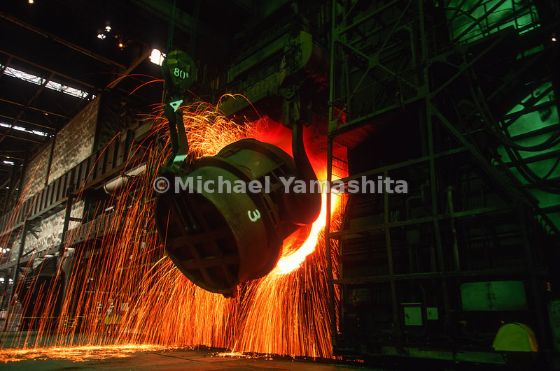 Nippon Steel Mill.Kitakyushu, Japan