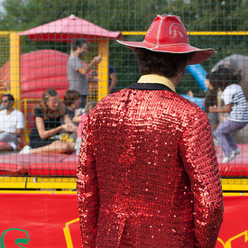 Le cowboy rouge, Paris