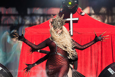 Maria Brink, vocals, In This Moment