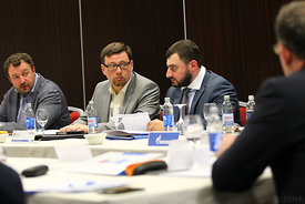 during the Final Tournament - Final Four - SEHA - Gazprom league, Assembly Meeting Varazdin, Croatia, 02.04.2016, ..Mandatory Credit ©SEHA/Zsolt Melczer