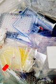 Laboratory clinical waste