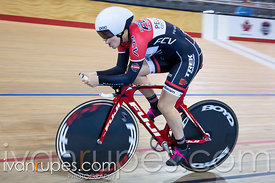 Junior Women Individual Pursuit Qualification. Canadian Track Championships (U17/Junior), April 2, 2016